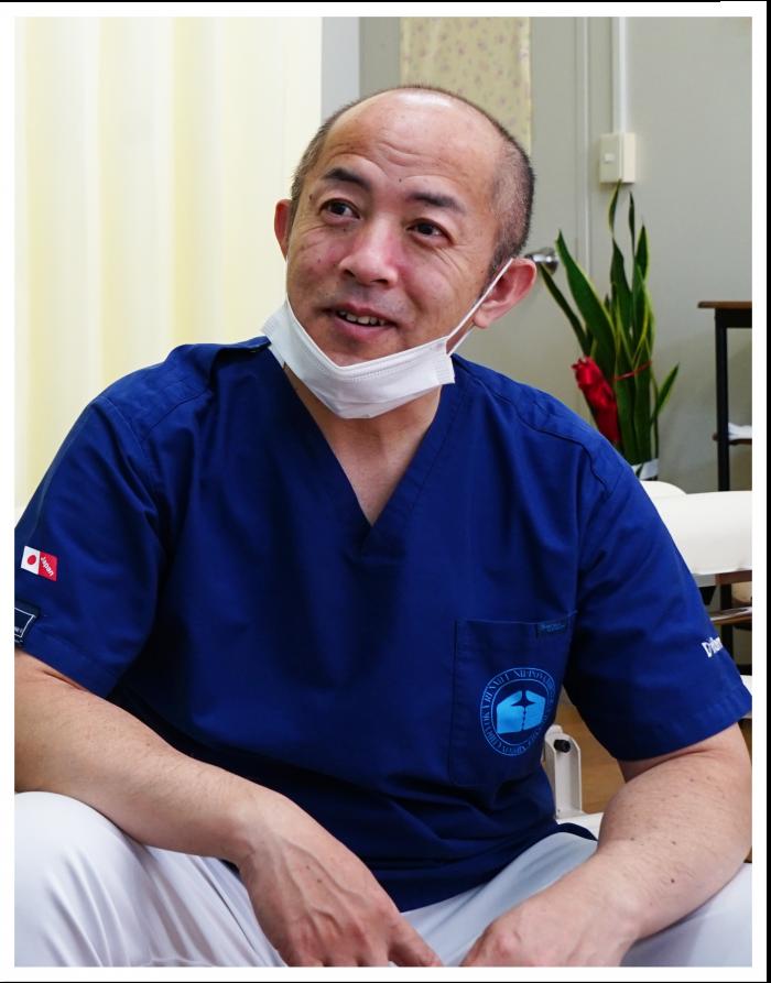 中村先生の写真